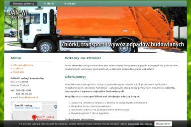 DAN-WI Usługi Komunalne - Usługi komunalne Gdańsk