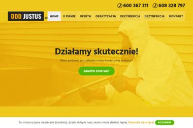 DDD Justus - Dezynsekcja i deratyzacja Chojnice