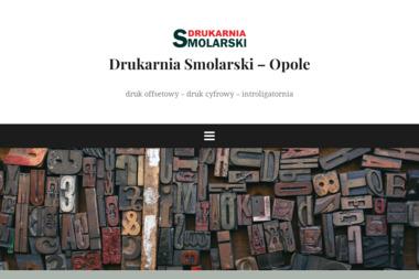 Drukarnia Smolarski, Józef Smolarski - Ulotki Opole