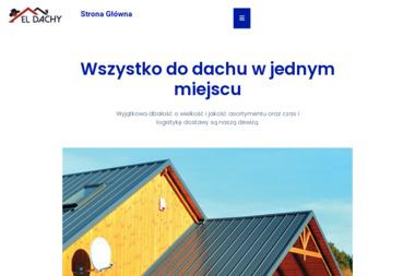 ELDACHY - Pokrycia dachowe Pułtusk