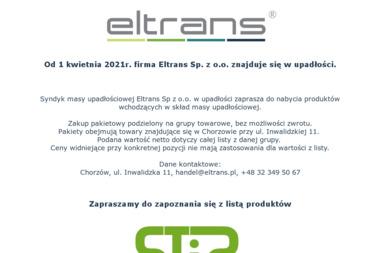 ELTRANS Sp. z o.o. - Druty, przewody Chorzów
