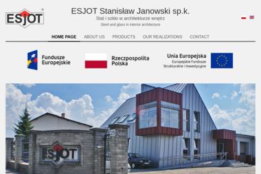 Esjot Spółka komandytowa - Balustrady Wałcz