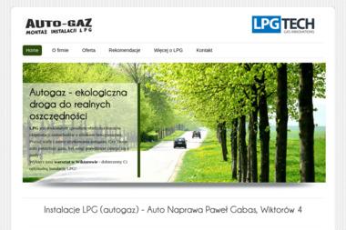 Auto Gaz Paweł Gabas   - Instalacje LPG Wiktorów