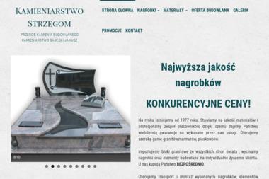 Kamieniarstwo Gajecki - Kamieniarstwo Białystok