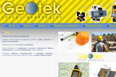 Geotek - Firma Geodezyjna Łódź