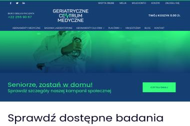 Geriatryczne Centrum Medyczne - Prywatne kliniki Warszawa