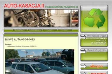 AUTOKASACJA II - Auto złom Grudziądz