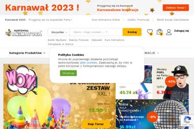 Hurtownia Animatora - Balony z helem Warszawa