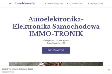 IMMO-TRONIK - Elektryk samochodowy Łask