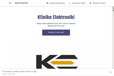 Klinika Elektroniki - Serwis Telewizorów Sokółka