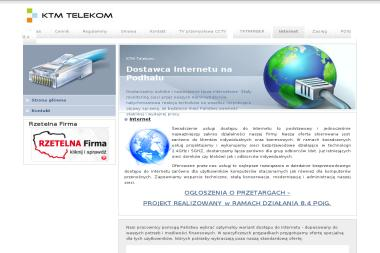 KTM TELEKOM - Internet Zakopane