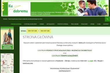 """""""Ku Dobremu"""" - Terapia uzależnień Kudowa-Zdrój"""