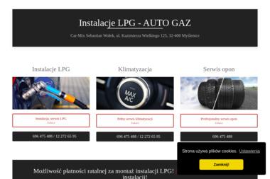 Car-Mix - Auto gaz Myślenice
