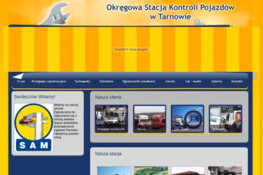 """Stacja Diagnostyczna """"SAM"""" S.C. - Car Audio Tarnów"""