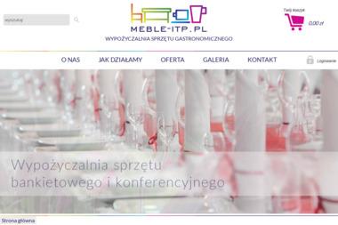 meble-itp.pl Sp. z o.o. - Wypożyczanie sprzętu gastronomicznego Łódź
