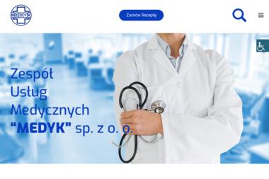 """Zespół Usług Medycznych """"MEDYK"""" - Terapia uzależnień Świdnica"""