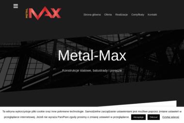 Metal-Max - Schody Metalowe Pleszew