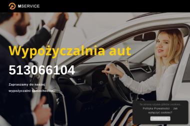 MService - Wypożyczalnia samochodów Łomża