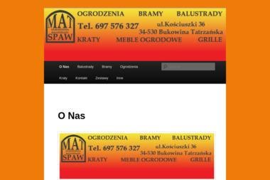 Mat-Spaw - Rzemiosło Bukowina Tatrzańska