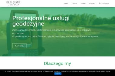 GEO-DISTO & GEO-LUX - Usługi Geodezyjne Łódź