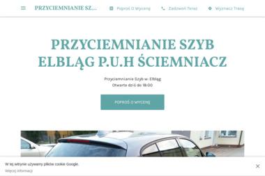 P.U.H ŚCIEMNIACZ - Przyciemnianie Szyb Elbląg