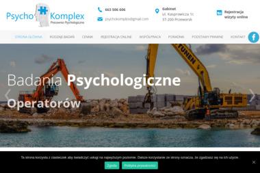 Pracownia Psychologiczna PsychoKomplex mgr Paulina Misiło - Medycyna pracy Przeworsk