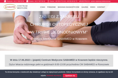 Centrum Medyczne SABAMED - Medycyna pracy Rzeszów