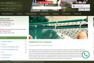 Markur - Sieci Rybackie Marcin Kurpiński - Ryby Gostynin