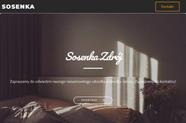 Sosenka - Ośrodek Rehabilitacyjno-Wypoczynkowy - Sanatoria, uzdrowiska Sochonie