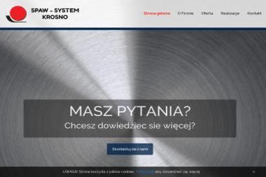 SPAW-SYSTEM KROSNO - Konstrukcje stalowe Tarnowiec