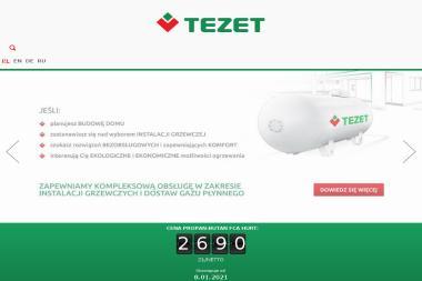 TEZET - Zaopatrzenie w gaz Brzeźno