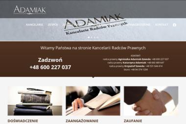 ADAMIAK - Prawnik Szczecinek