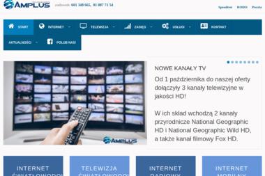 AMPLUS - Dostawcy internetu, usługi telekomunikacyjne Puławy
