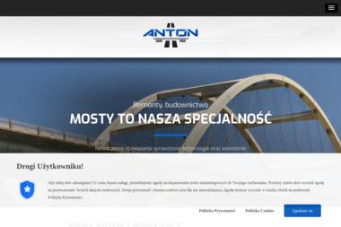 ANTON TOMASZ ANTONIEWSKI - BUDOWA I REMONTY MOSTÓW - Budownictwo Inżynieryjne Nowy Sącz