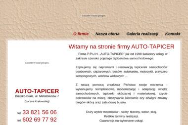 P.P.H.U. AUTO-TAPICER - Renowacja Tapicerki Samochodowej Bielsko-Biała