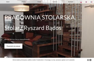 Pracownia stolarska - Stolarz Ryszard Bądos - Schody Drewniane Na Beton Lublin