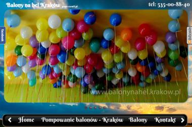 Balony na hel - Balony z helem Kraków