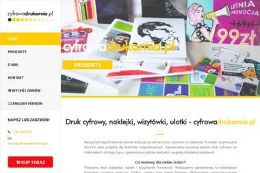 cyfrowadrukarnia.pl - Etykiety Wrocław