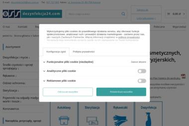 OSS sp z oo dezynfekcja24.com - Kosmetyki Gdańsk
