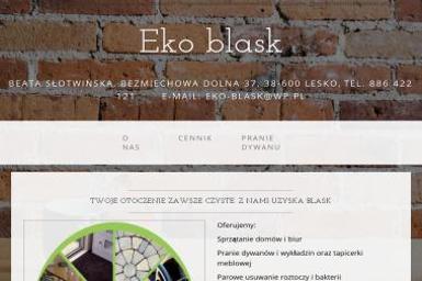 Eko Blask - Wyposażenie wnętrz Lesko