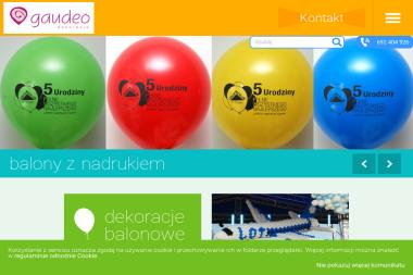 Gaudeo - Balony z helem Kiełczów