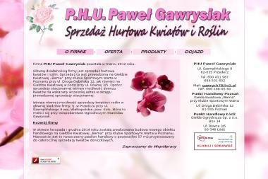 PHU Paweł Gawrysiak - Kwiaty Przedecz