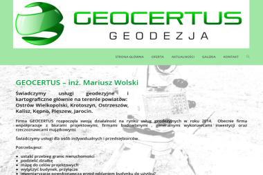 GEOCERTUS - Geodeta Ostrów Wielkopolski