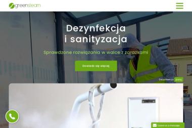 Myjnia parowa Optima GreenSteam - Myjnie Dojazdów