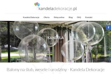 Kandela Dekoracje - Balony z helem Toruń