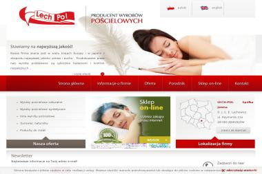 LECH-POL Spółka Jawna - Pościel na Zamówienie JĘDRZEJÓW