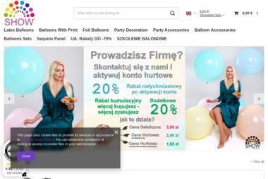 Market-show Europe Sp. z o.o. - Sklep z Balonami Kraków
