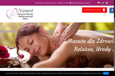 NATUREL Gabinet Masażu i Refleksoterapii - Medycyna naturalna Płock