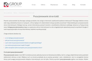 MGroup - Programista Łódź