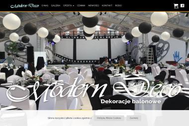 Modern Deco - Balony z helem Bielsko-Biała